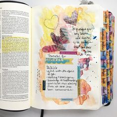 """227 Likes, 5 Comments - Melanie (@biblejournalingdaily) on Instagram: """"{ Day 3 #gratitudedocumented } #biblejournalingdaily #bibletabs #biblejournalingcommunity…"""""""