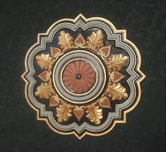 Victorian Antiquities and Design: ceiling medallions