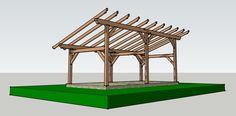 Timber Frame Shed Barn