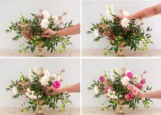 3 Tutoriales para hacer arreglos florales   Decoración