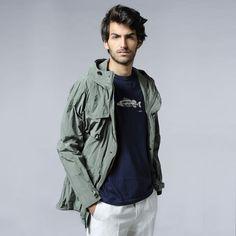 S/S'12 - Cotton Flat Slack Style Herman Trousers by #ASPESI