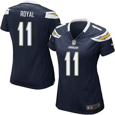 9 Eddie Royal Jersey: Authentic Chargers Women's Youth Kids Mens ...