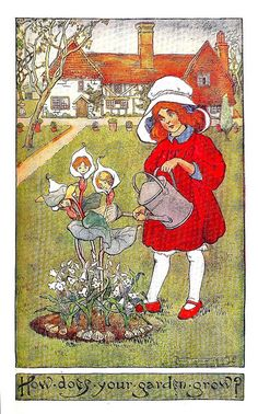 """How Does Your Garden Grow?"" - Inez Topham by docarelle, via Flickr"