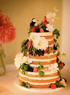 Organic vegan and gluten-free orange blossom cake with lemon curd and ...