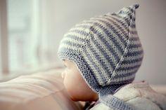 Ravelry: Logan a vintage style pixie hat pattern by Julie Taylor