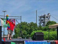 Jason Bordelon performing at Cenla Pride 2014.