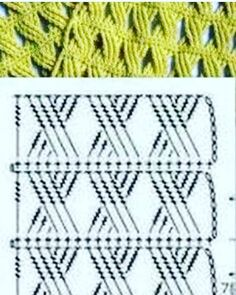 Watch This Video Beauteous Finished Make Crochet Look Like Knitting (the Waistcoat Stitch) Ideas. Amazing Make Crochet Look Like Knitting (the Waistcoat Stitch) Ideas. Crochet Motifs, Crochet Diagram, Crochet Stitches Patterns, Crochet Chart, Crochet Designs, Stitch Patterns, Knitting Patterns, Mode Crochet, Crochet Cable