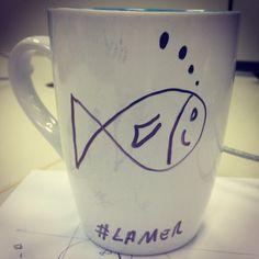 """Café a """"La Mer"""" para uma segundona francesa! www.diariodebordo.net.br #café #cafeína #lamler #frança #nemo #dory"""