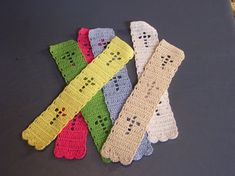 Any Name Crochet Bookmark