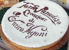 torta Paradiso - dolce tipico di Pavia
