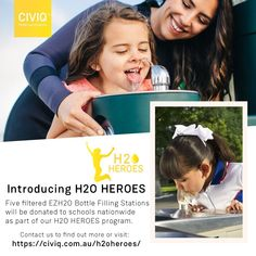 We will be donating Five filtered drinking water fountains for schools nationwide as part of our Heroes program. Drinking Fountain, Drinking Water, Healthy Water, Filling Station, Programming, Schools, Sustainability, Competition, Filters
