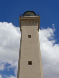 Argentina - Faro San Jorge, Comodoro Rivadavia, Chubut, Patagonia - World of Lighthouses