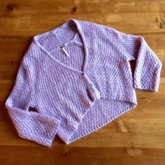 Free People Lavender Cropped Knit Sweater Descriptions to follow.... Free People Sweaters
