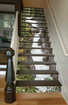 Stair Art, Beautiful Stairs, Staircase Ideas, Decor Interior Design, House,  Construction Jobs, Heaven, Engineering, Stairways