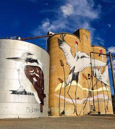 Street Wall Art, Street Mural, Urban Street Art, Street Art Graffiti, Graffiti Murals, Mural Art, Barn Art, Building Art, Outdoor Art