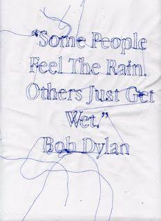 LOVE not using an umbrella! Feel alive!