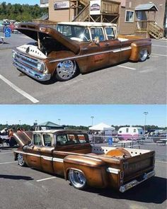 Chevy crew cab dually..