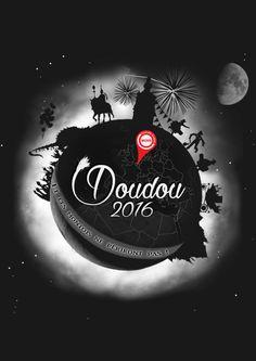 Affiche, concours 'Doudou illustré 2016', Mons