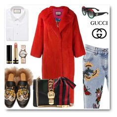 """Gucci"" by irenaelezi ❤ liked on Polyvore featuring Gucci, allgucci and onlygucci"