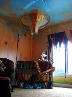 Victorian Steampunk Nursery Ideas