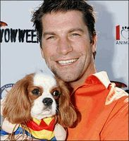 Jerry O'Connell and his Cavalier King Charles Spaniel