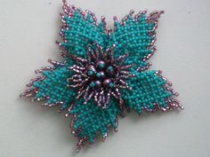 Tute and Schema. (Translate) #Seed #Bead #Tutorials