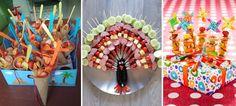 Een overzicht met de 25 leukste gezonde kindertraktaties. Soms in combinatie met een snoepje, maar vooral heel erg feestelijk!