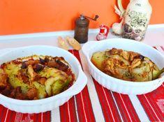 Specialitate de ardei umpluti cu carne de pui si galbiori Ratatouille, Mashed Potatoes, Catering, Chicken, Ethnic Recipes, Food, Whipped Potatoes, Catering Business, Smash Potatoes