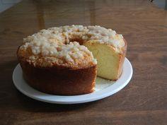Buttermilk Rum Pound Cake