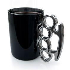 Knuckle Duster MUG! Black