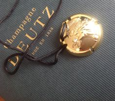 Champagne Deutz, Plaque, Accessories, Jewelry Accessories