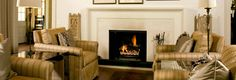 indoor vent-free fireplace from firerock