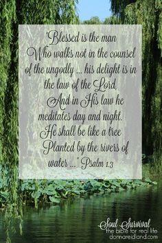 Psalm 1.1, 3