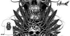 T-shirts - Design: Beast - by: ADAM LAWLESS