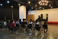 ACTING CLASS OF SIFS STUDY VOCAL WITH HOANG BACH SINGER