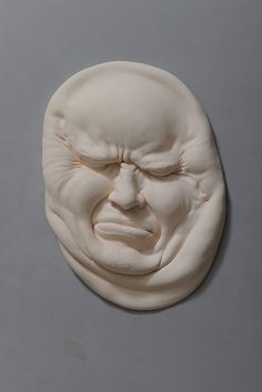"Hong-based artist Johnson Tsang (previously featured here) bends, stretches and distorts human faces to create his impressive porcelain sculptures.  ""The comical works morph facial features and body parts, at times cramming the identities of multiple persons into a single being. These new pieces from his"