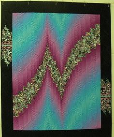 News Longarm Quilting, Machine Quilting, Quilting Projects, Quilting Designs, Sewing Projects, Quilting Ideas, Sewing Ideas, Bargello Quilt Patterns, Bargello Quilts