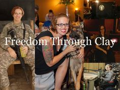 Freedom through Clay I just discovered this today (05/15/13), too late to help with the Kickstarter project, but I wanted to share Shawna Mayo's story and you can give continued support by visiting her etsy shop. She is a disabled veteran who has discovered the healing qualities of working with clay.