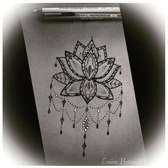 lotus flower drawing tumblr - Google Search