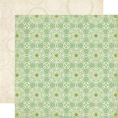 Collections | echo park paper co. FRT36008 Green Lace