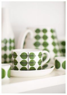 Stig Lindberg Bersa Collection Photography   Scandinavian design  Kitchen Decor  Kitchenware tea cup A4. $25,00, via Etsy.