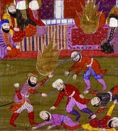 In 627 AD Muhammad and his Muslims beheaded the entire male population of the Jewish tribe of the Bani Quraiza. 800 men were bound, decapitated and had their bodies thrown into a pit that they had been forced to dig. The wives, mothers and children watched in wretched horror of the mass murder. Afterward, Muhammad claimed Raihna, one of the attractive Jewish widows, for his own quickly growing harem!