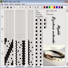 proste wzory na sznury szydełkowo koralikowe - Szukaj w Google