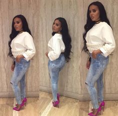 Nails it everytime Angela Simmons