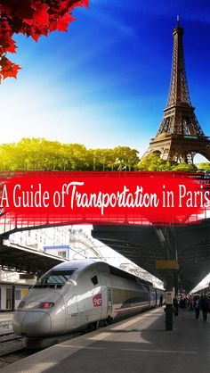 If you would be staying in Paris for just a couple of days or weeks, then you no longer have to worry about how you would be able to survive in this city Paris Travel, Italy Travel, Travel Europe, Paris Destination, Train System, Europe Destinations, Family Travel, Transportation, Places To Go