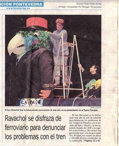 PRENSA, PRESENTACIÓN RAVACHOL FERROVIARIO EN EL TEATRO PRINCIPAL
