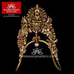 Buy Vanki - Bajubandh Online | Traditional Antique Lakshmi Ara-Vanki from Kameswari Jewellers