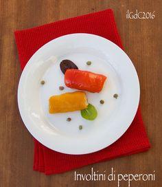 il giardino dei ciliegi: Ricette delle Langhe: Involtini di peperoni al for...