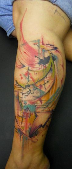 Watercolor tattoo<3  @Ali Velez Howell  (maybe a lil smaller)
