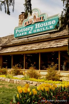 The Old Mill Pottery House Restaurant - You'll love the delicious dishes they have here!